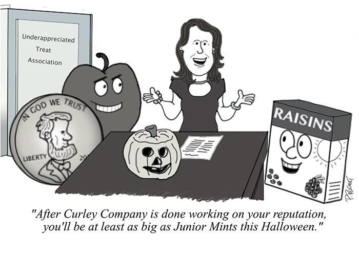 Curley Company Halloween Cartoon