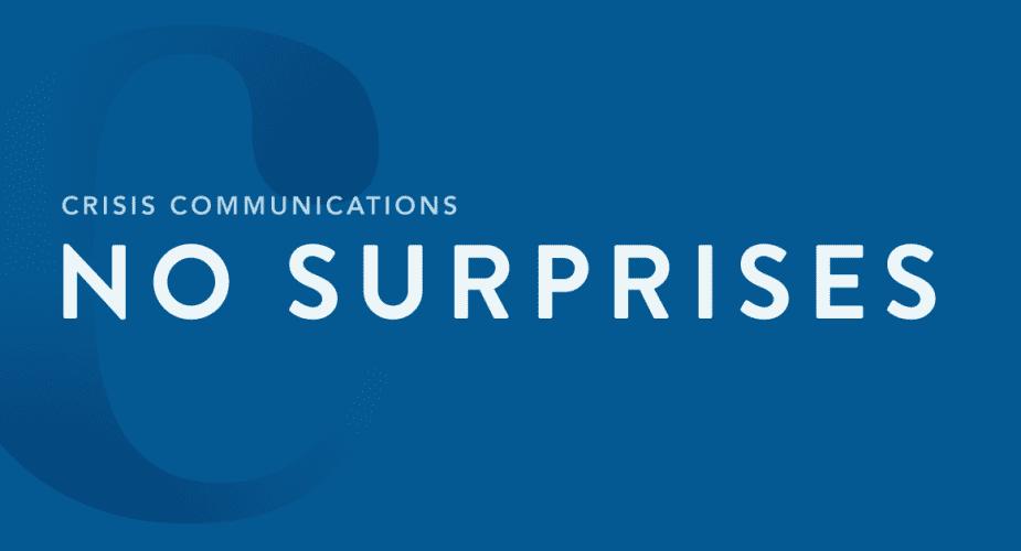 Crisis Strategies for Communicators