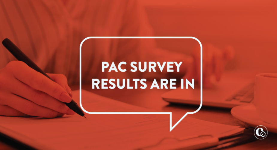 PAC Member Survey Results Are In