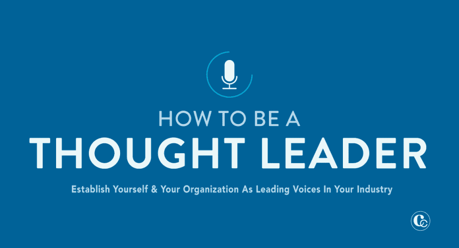 Launch Your Thought Leadership Plan