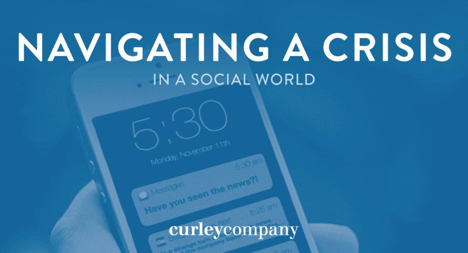 Navigating a Crisis in a Social World